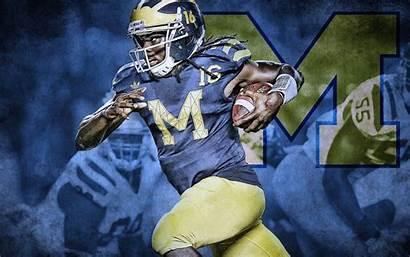 Michigan Wolverines Screensaver Denard Football Robinson Wallpapersafari