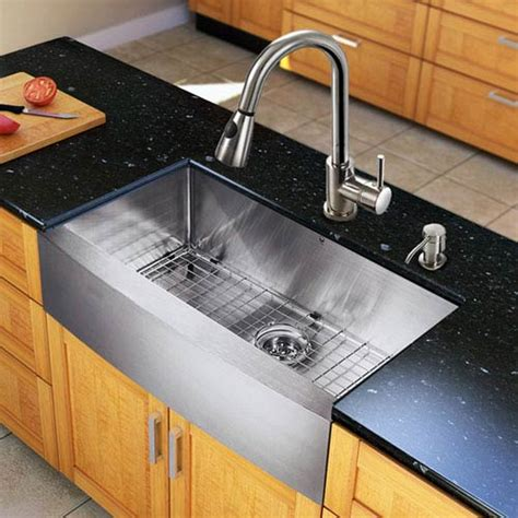 Stainless Steel Farmhouse Sink Protector by All In One 33 Inch Farmhouse Stainless Steel Kitchen Sink