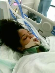 Takara Davis, 13-year-old girl in coma, gets jaywalking ...