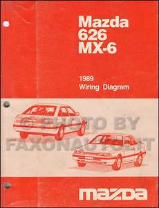 Mazda 626 Mx 6 Wiring Diagram 1989 Service Repair Manual