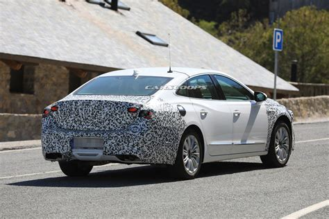 2020 Buick Lacrosse Facelift Spied With Minor Styling