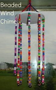 beaded wind chimes family crafts