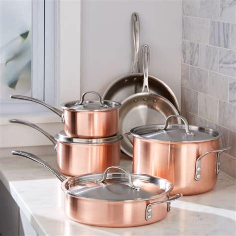 Calphalon Triply Copper 10piece Cookware Set + Reviews