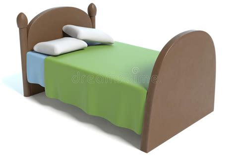 Cartoon Bed Stock Illustration. Illustration Of Graphic