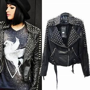Veste Style Motard Femme : veste femme punk ~ Melissatoandfro.com Idées de Décoration