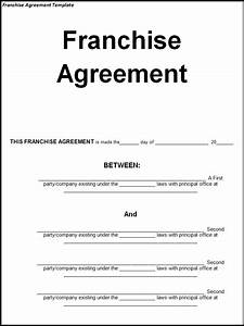 opinions on franchise agreement With franchise documents templates