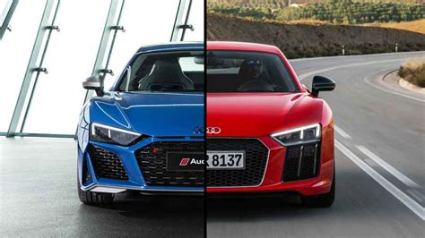 2019 Audi R8 See The Changes Sidebyside