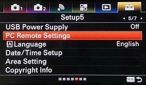 User Guide For Sony