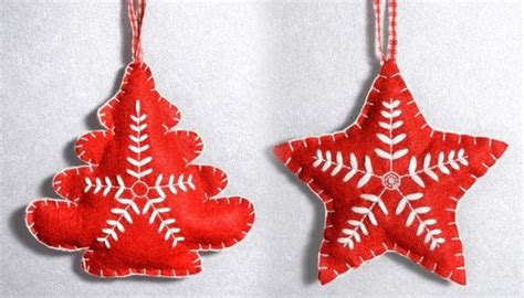 felt christmas ornaments diy christmas crafts dot com