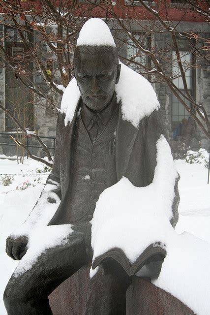 Sigmund Freud at Clark University Statue