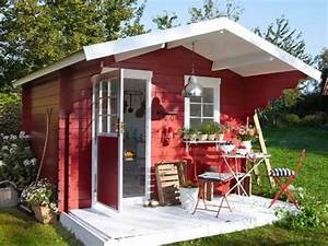 Farbe Für Gartenhaus : ein gartenhaus drei varianten gartenhaus garten gartenhaus und kleines gartenhaus ~ Watch28wear.com Haus und Dekorationen