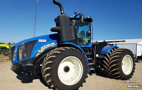 New Holland T9.600 4wd 3Pt Hitch Pto Articulated Tractor ...