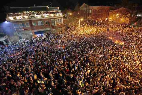 Athens Ohio Halloween college towns create ideal lifelong learning laboratories