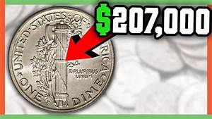 $207,000 RARE DIME WORTH MONEY - MERCURY DIME FULL SPLIT ...