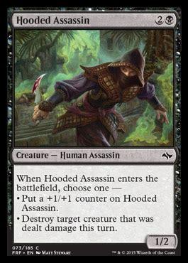 mtg assassin deck list magical notes fate reforged preview mechanics