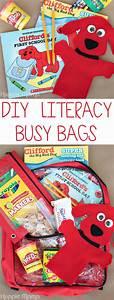 DIY Literacy Busy Bags - Carrie Rose