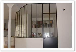 Verriere Interieure Metallique : serrurerie carette r alisation de v randa verriere ~ Premium-room.com Idées de Décoration