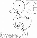 Goose Coloring Printable Coloringfolder Animal Flying Wild Geese Animals Mother Goos sketch template