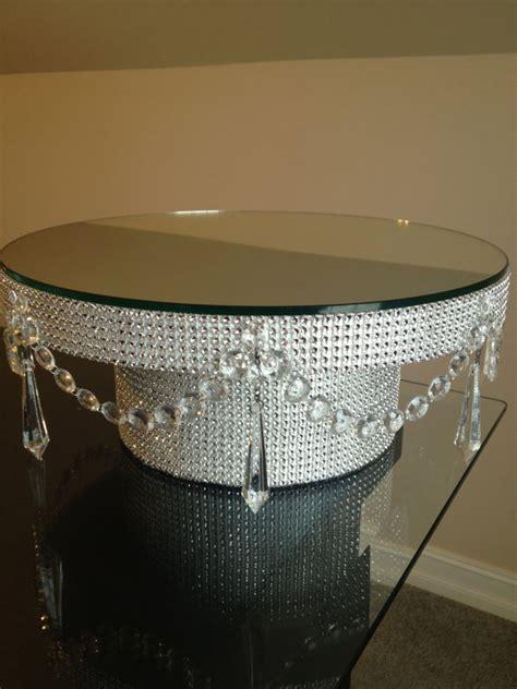 diy rhinestone wedding cake stand 16 rhinestone diamond wrap wedding cake stand by