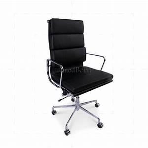 Eames Replica Deutschland : ea219 eames style office chair high back soft pad black leather replica ~ Sanjose-hotels-ca.com Haus und Dekorationen