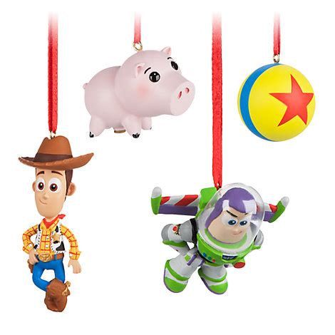 toy christmas ornaments story decorations set of 4