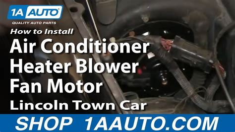 install replace air conditioner heater blower fan