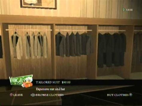 Mafia 2 Where To Find A Luxury Suit Youtube