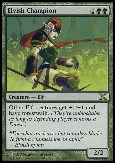 proxies for deck quot elf token edh quot deckstats net