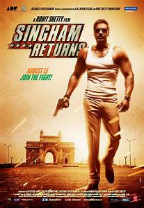 SINGHAM RETURNS First Look Posters and Trailer - Falling ...