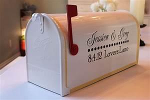 Stickers Boite Aux Lettres : my guestbook mailbox weddingbee ~ Dailycaller-alerts.com Idées de Décoration