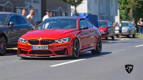 Modified Bmw Coupe by Modified Bmw M4 F82 Coupe Loud Sounds Revs