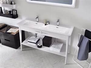 meuble pour salle de bain meuble sous vasque en With console pour vasque salle de bains