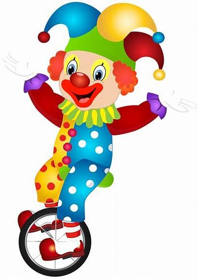 Clown Clipart Clip Transparent Birthday Happy Background