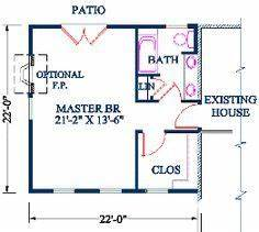 500 square foot master suite addition google search With over the garage addition floor plans