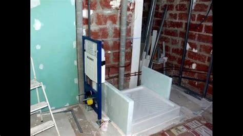 construction d 39 une salle de bains