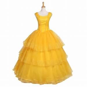 Deguisement Princesse Disney Adulte : d guisement princesse belle robe jaune bal robe la belle ~ Mglfilm.com Idées de Décoration