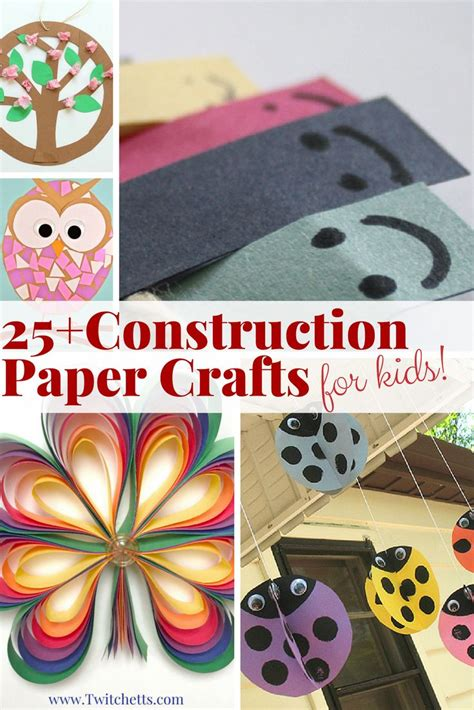 best 25 construction paper crafts ideas on 483 | 1477094495602a71316d85bf5a18291f construction paper crafts for kids preschool