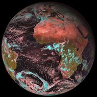 Current Satellite View Earth