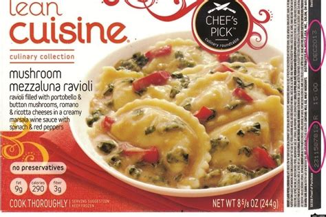 lean cuisine ravioli dish recalled after glass fragments