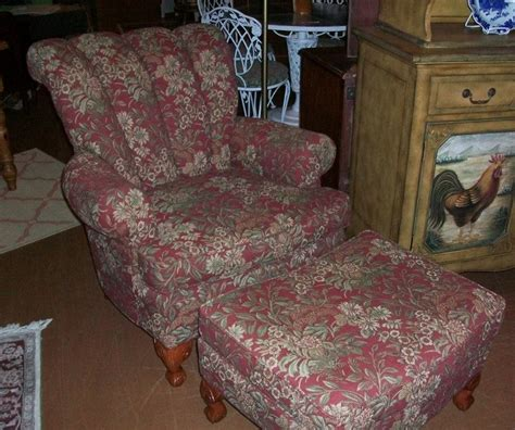 overstuffed chair and ottoman couches and chairs