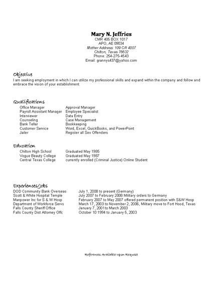 Best High School Resume by The 25 Best High School Resume Template Ideas On