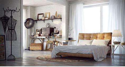urban  indusrtial bedroom design ideas