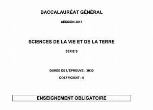 Bac Degraisseur Obligatoire : sujet svt bac 2017 pondich ry vive les svt les ~ Premium-room.com Idées de Décoration