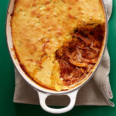 pulled pork  cornbread topping rachael ray  day