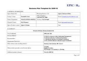 free basic resume outline business plan template uk free free business template