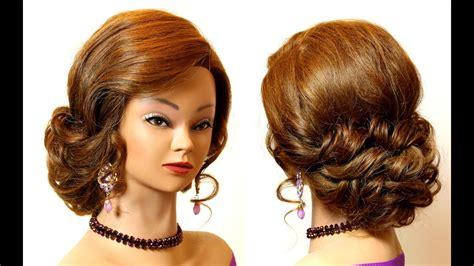 cute hairstyles prom wedding updo for long medium hair