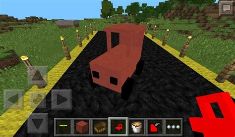 How To Make A Double Boat In Minecraft by Script On The Car For Minecraft Pocket Edition 0 9 5 2