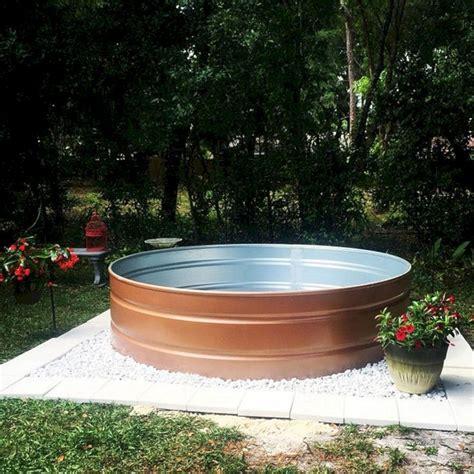 stock tank pool design ideas