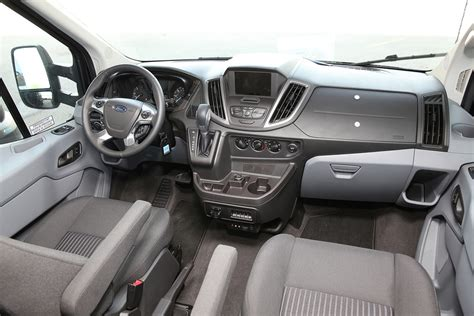 ford transit interior ford transit review truck news