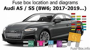 Fuse Box Location And Diagrams  Audi A5    S5  2017